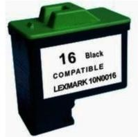 Kompatibilní inkoust s Lexmark 10N0016 č. 16 černý