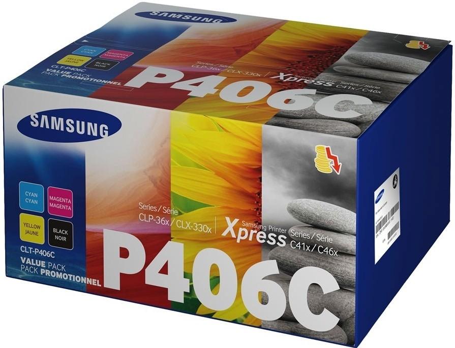 Originální tonery Samsung CLT-P406C CMYK