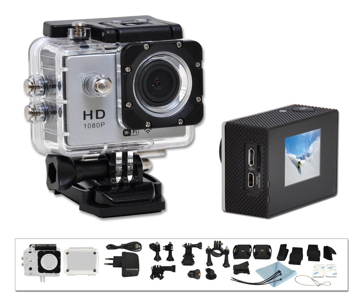 Vodotěsná HD kamera na SD, 1080p, 5Mpx, Wifi