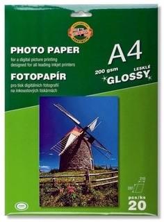 Lesklý fotopapír A4/200g