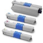 Kompatibilní tonery s OKI C301, C321, MC332, MC342 BK/C/M/Y 44973536
