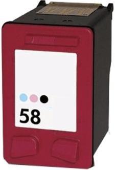 Kompatibilní inkoust s HP C6658AE (HP58) foto barevný