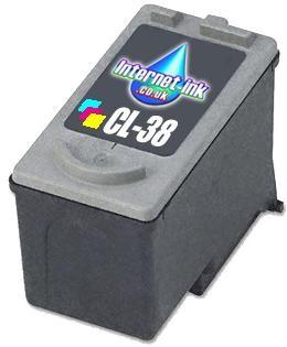 Kompatibilní inkoust s Canon CL-38 barevný