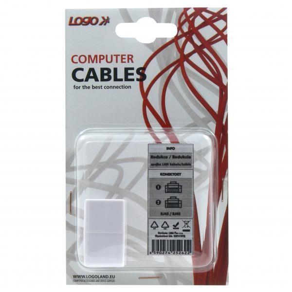 Spojka LAN kabelů RJ45 / RJ45