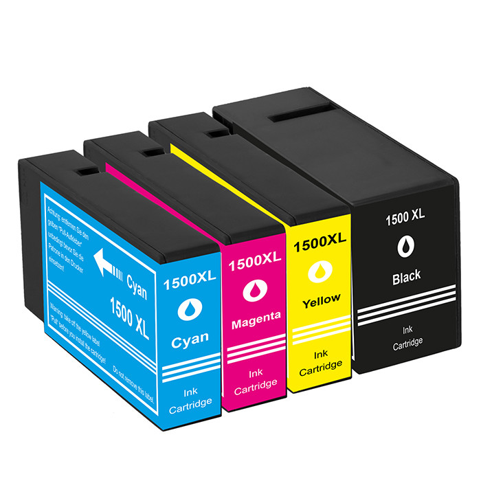 Kompatibilni inkousty s Canon PGI-1500 černý, modrý, červený a žlutý XL