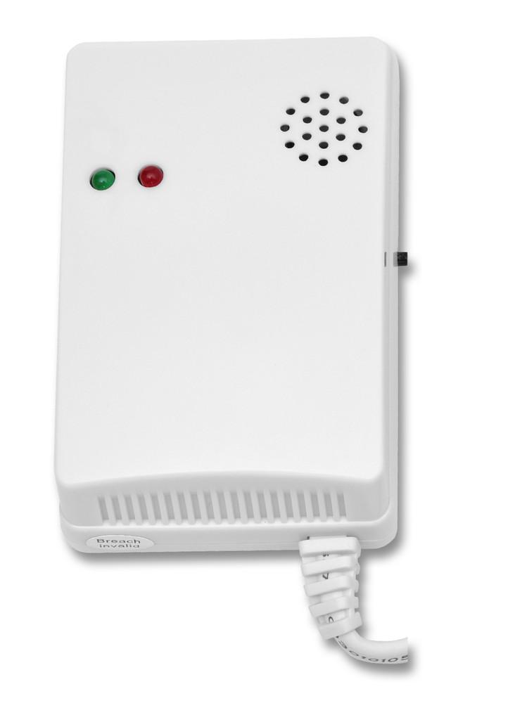 Senzor plyn+LPG Wifi, 230V, bílý