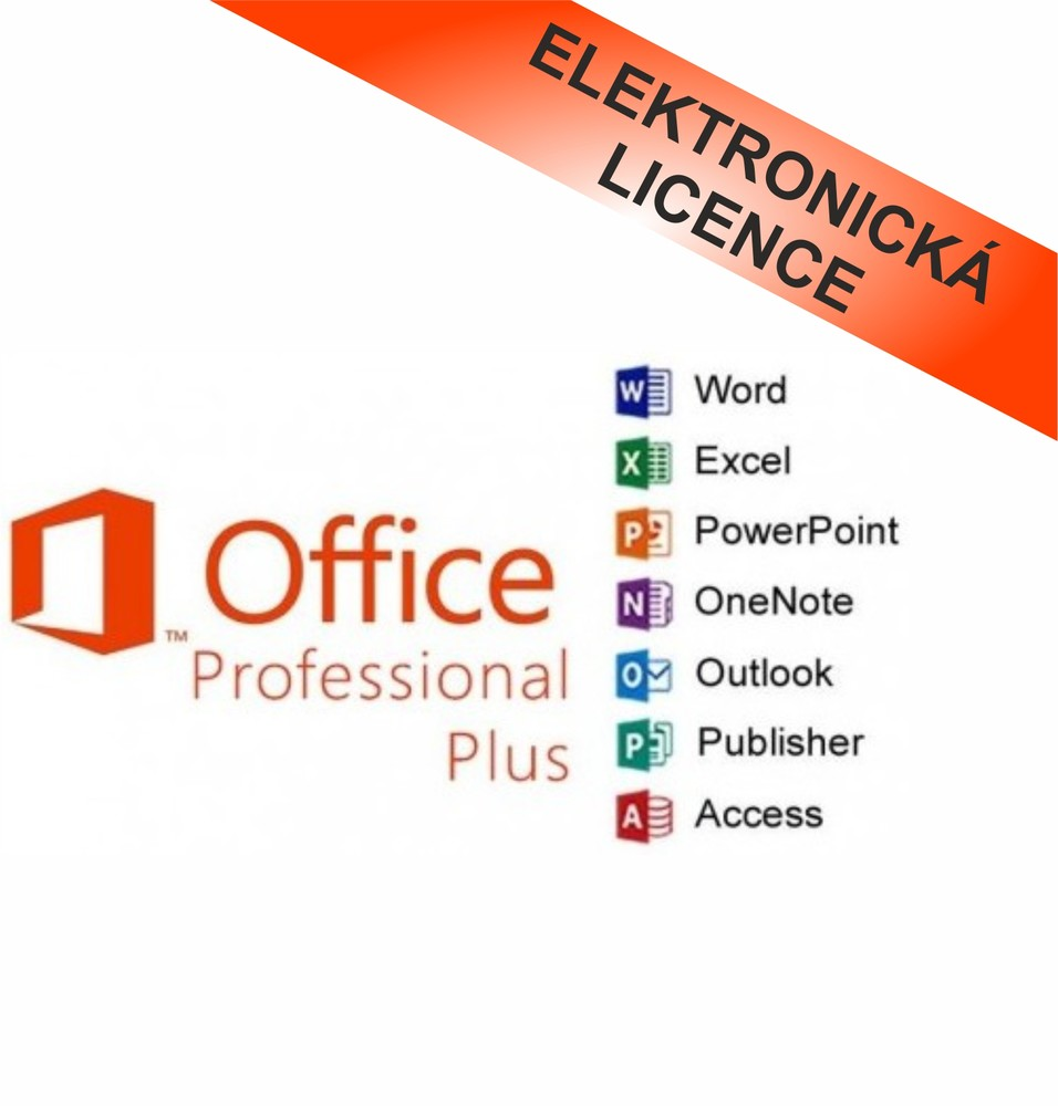 Microsoft Office 2016 Professional Plus, CZ, 79P-05537
