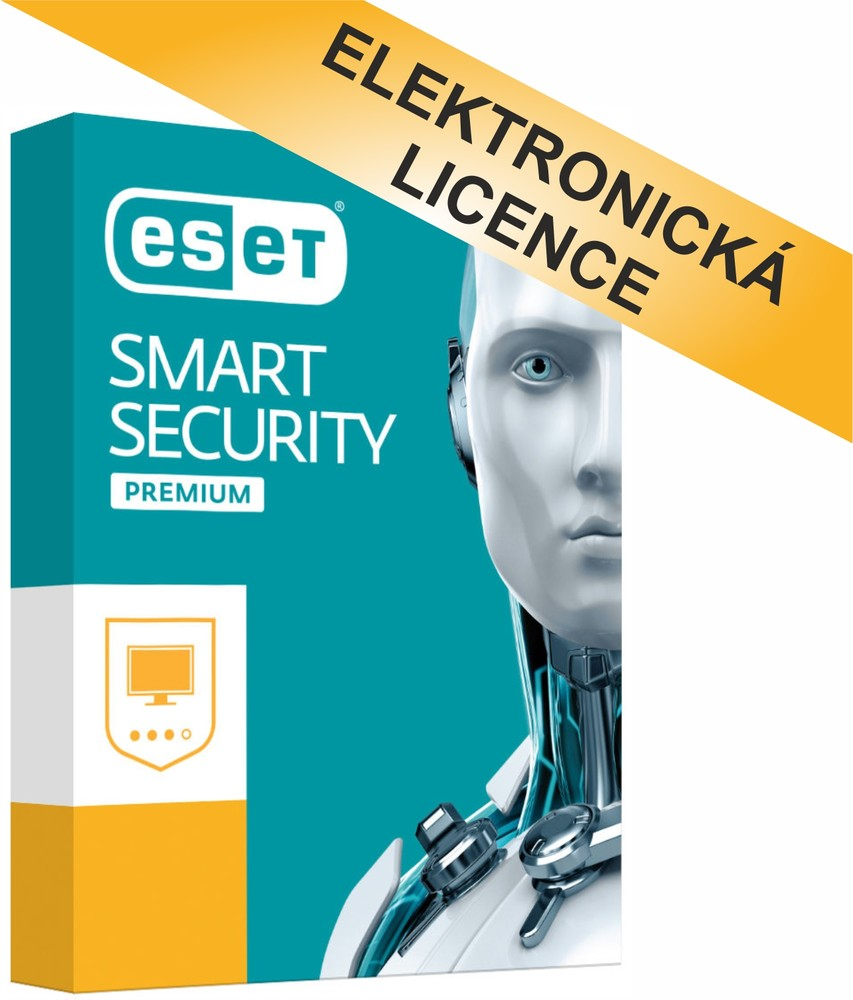 ESET Smart Security Premium 4 licence na 1 rok, ESSP004N1