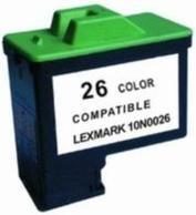 Kompatibilní inkoust s Lexmark 10N0026 č. 26 barevný