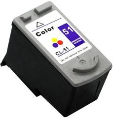 Kompatibilní inkoust s Canon CL-51 barevný