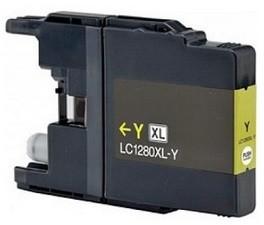 Kompatibilní inkoust s Brother LC-1220/1240/1280Y žlutý