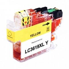 Kompatibilní inkoust s Brother LC-3619XLY, žlutý