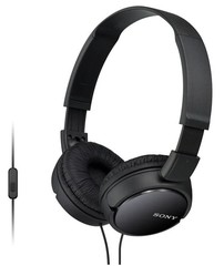 Sony MDR-ZX110AP, černá sluchátka