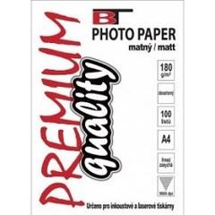 Matný fotopapír A4/180g (100 listů v balení)