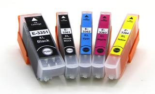 Kompatibilní inkousty Epson T3357, multipack