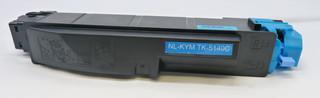 Kompatibilní toner s Kyocera TK-5140C azurový