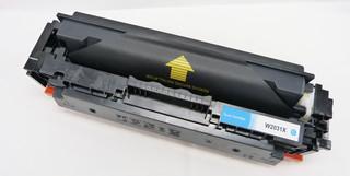 Kompatibilní toner HP W2031X (415X), azurový