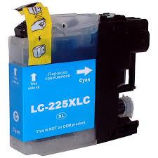Kompatibilní inkoust s Brother LC-225XL modrý