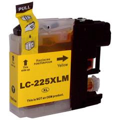 Kompatibilní inkoust s Brother LC-225XL žlutý