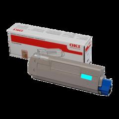 Originální toner OKI 42804539 modrý XL