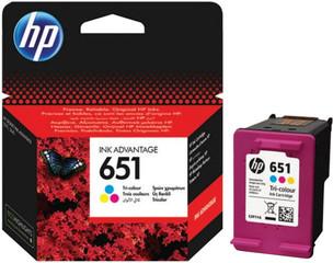 Originální inkoust HP 651 (C2P11AE) barevný