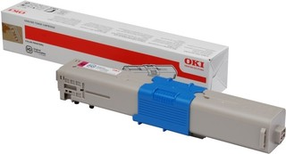 Originální toner OKI 44973534 červený