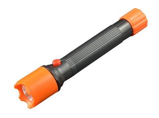 Solight LED svítilna, černooranžová, 2 x AA v balení, WL101