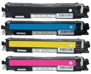 Kompatibilní tonery s HP CE310A, CE311A, CE312A, CE313A - CMYK