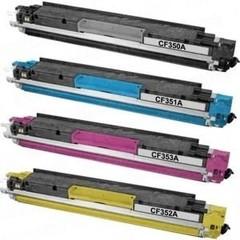Kompatibilní tonery s HP CF350A, CF351A, CF352A, CF353A - CMYK