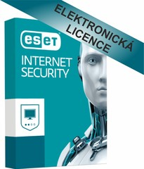 ESET Internet Security 1 licence na 1 rok, ESS001N1