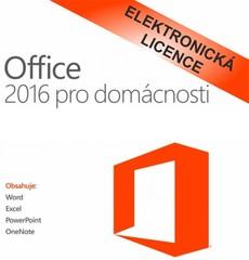 Microsoft Office 2016 pro domácnosti, CZ, 79G-04723