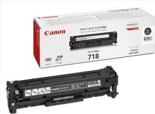 Originální toner Canon CRG-718Bk (2662B002), černý