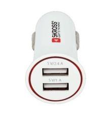 Dual USB Car Charger nabíjecí autoadaptér, 2x USB, 3400mA max, DC27