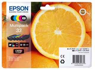 Originální inkousty Epson 33, C13T33374011, multipack