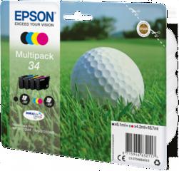 Originální inkoust Epson 34, C13T34664010, multipack