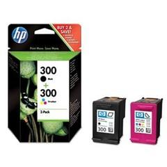 Originální inkousty HP 300 (CN637EE), multipack