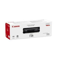Originální toner Canon CRG-726Bk (3483B002), černý