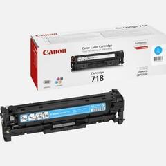 Originální toner Canon CRG-718C azurový (2661B002)