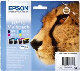 Originální inkoust Epson T0715, C13T07154012, multipack