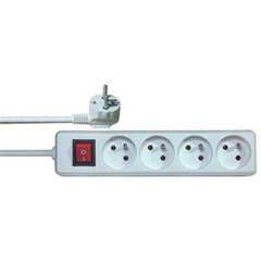 Prodlužovací přívod PremiumCord 230V, 3m, 4 zásuvky + vypínač
