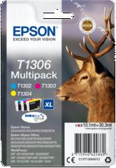 Originální inkousty Epson T1306, C13T13064012, multipack