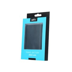 Power bank 5200 mAh black SETTY