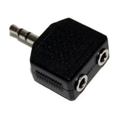 PremiumCord Adaptér stereojack 3.5 - 2x3.5, M/F, KJR-02
