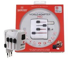Skross cestovní adaptér SKROSS PRO World, PA44