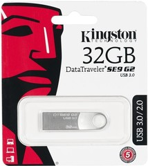32GB Kingston USB 3.0 DataTraveler SE9