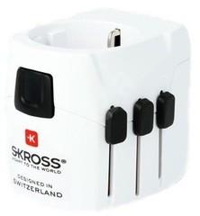 Skross cestovní adaptér SKROSS PRO Light USB, PA46