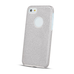 Plastové pouzdro pro iPhone 7 / iPhone 8 - stříbrné