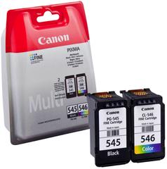 Originální inkoust Canon PG-545 + CL-546 (8287B005), černý 8 ml. + barevný 9 ml.