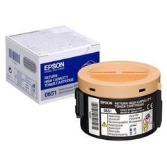 Originální toner Epson 0651, C13S050651