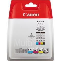Originální inkoust Canon CLI-571CMYK (0386C005), CMYK, 4 x 7 ml.